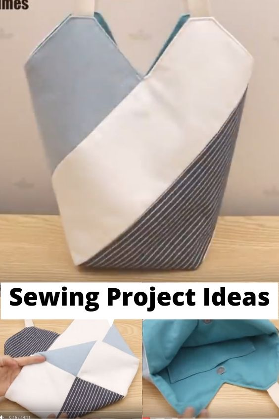 A Windmill Bag, Sewing Project
