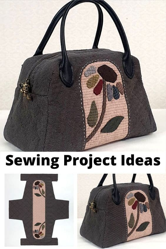 One Piece quilt bag, free pattern