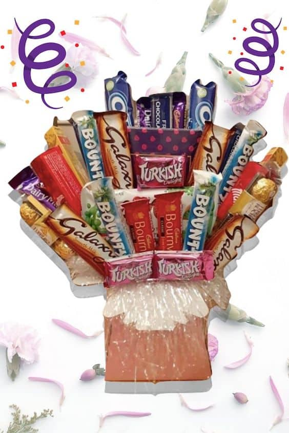 chocolate hamper bouquet