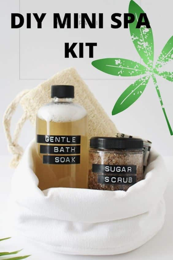 DIY Mini Spa Gift Kit