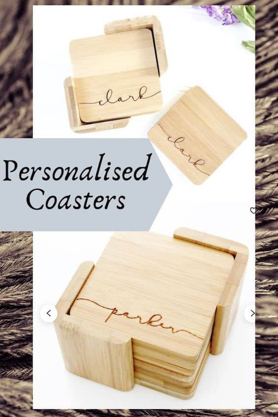 Personalised coasters to make and sell
