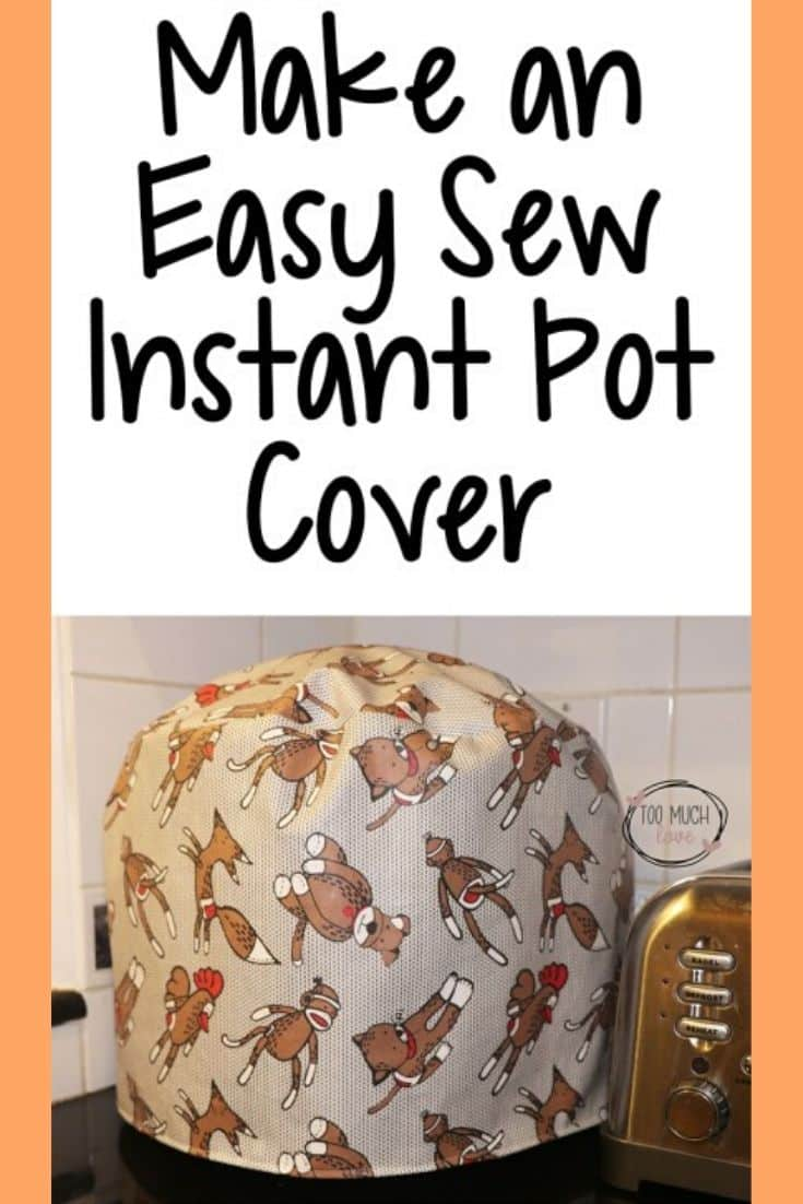Easy instant pot cover