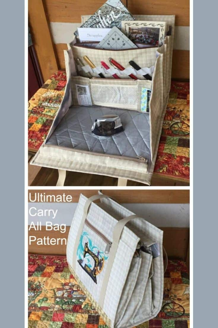 Ultimate carry bag, sewing project