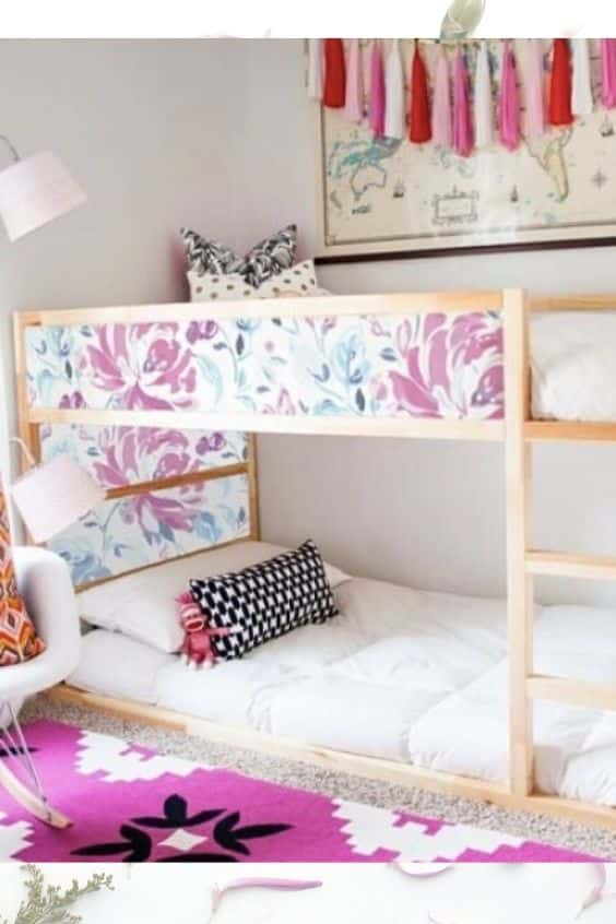 10 Easy Ways To Jazz Up Your Kura Bed. Ikea Hacks You Need To See.
