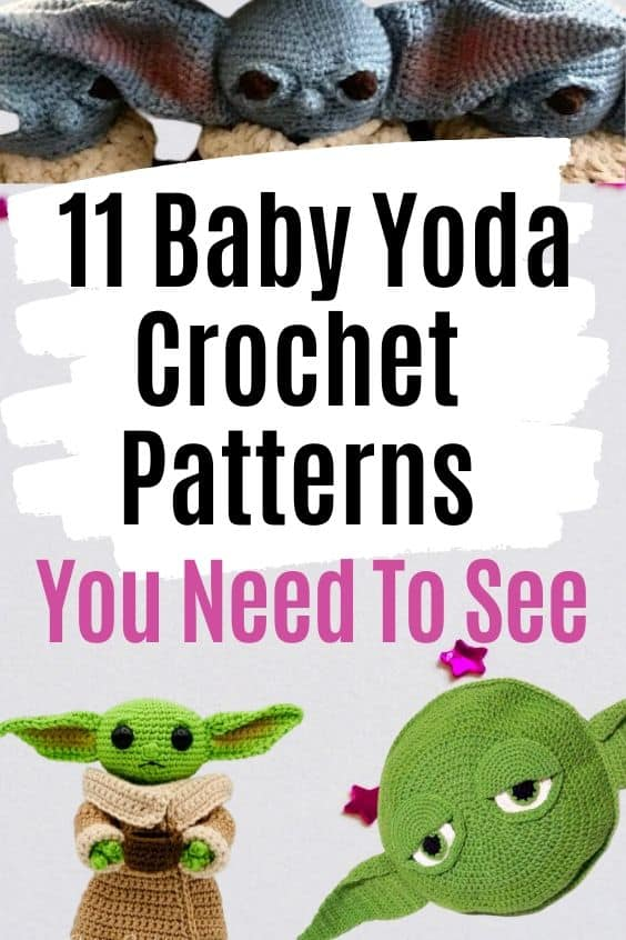 11 Baby Yoda Crochet Patterns You Need To See