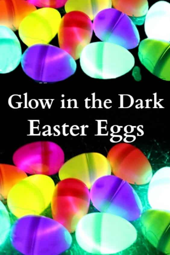 Glow in the dark easter eggs for your hunt