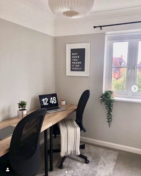 ikea pax home office hack