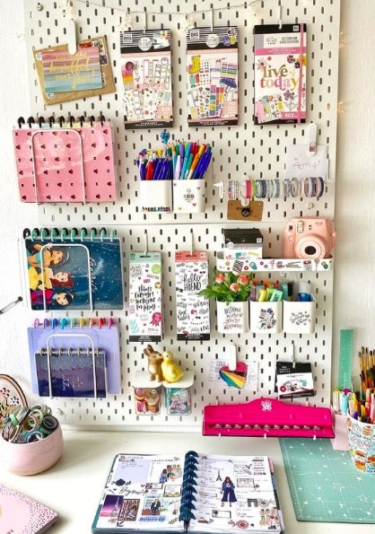 Get Your Craft Room Organised With These 10 Craft Room Hacks