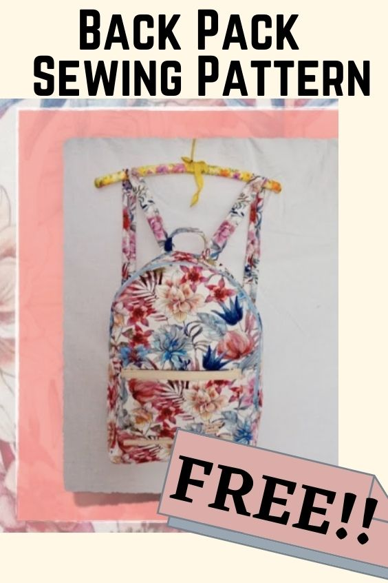 Free Back Pack Sewing Pattern